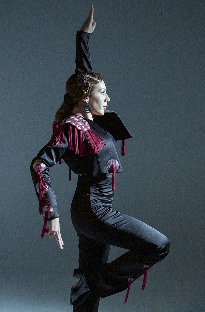 La Popi es profesora de flamenco y baile español en ExpresArte.