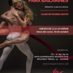 clases de interpretación para bailarines
