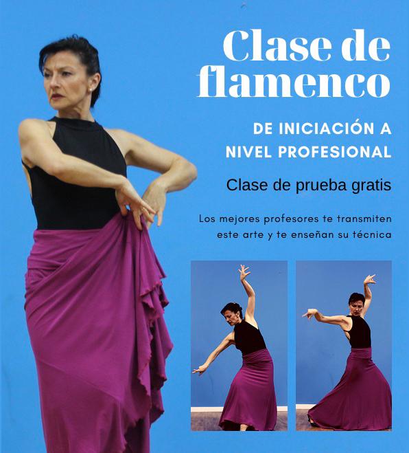 Clases de flamenco de iniciación a profesional