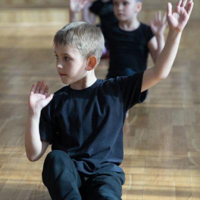 Danza y movimiento infantil