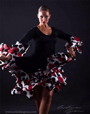 Andrea Amorós flamenco