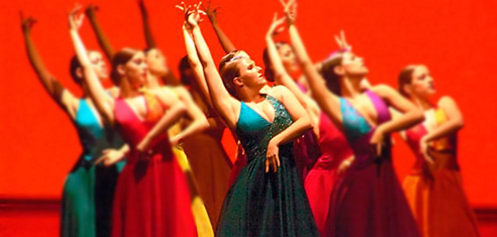 profesora de danza española en Madrid
