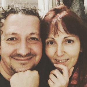 Mary Carmen Melero y Vicente Aguado