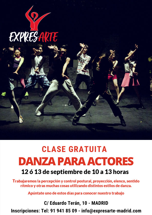 danza para actores