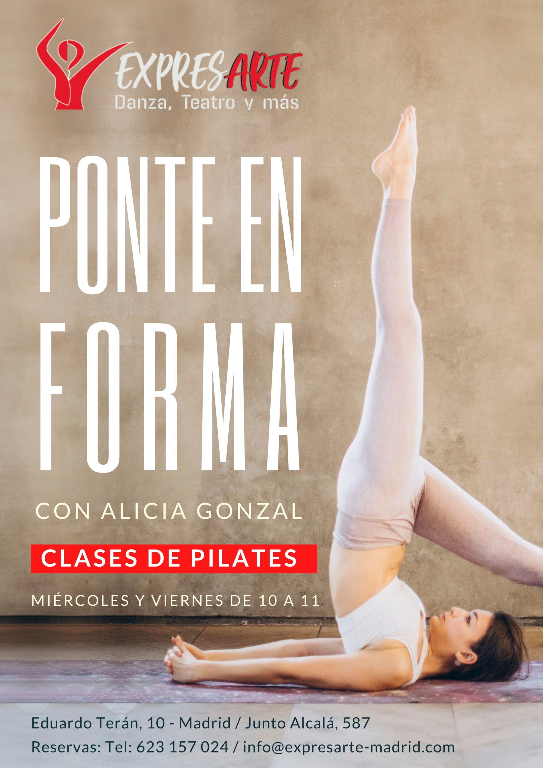 Clases de Pilates en Canillejas, Madrid.