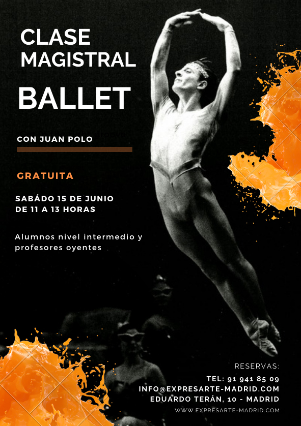 clase magistral de ballet