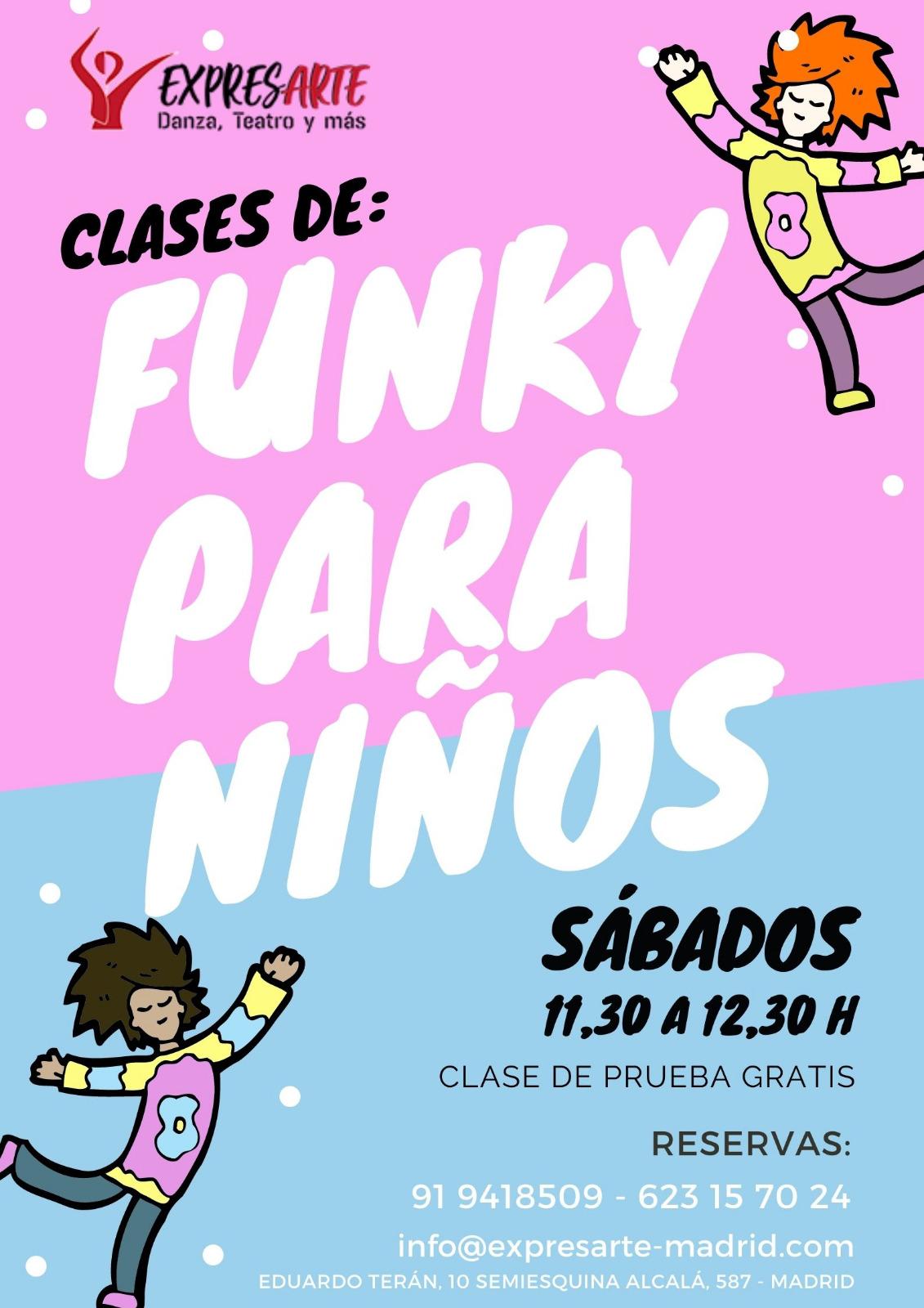 Clases de funky para niños