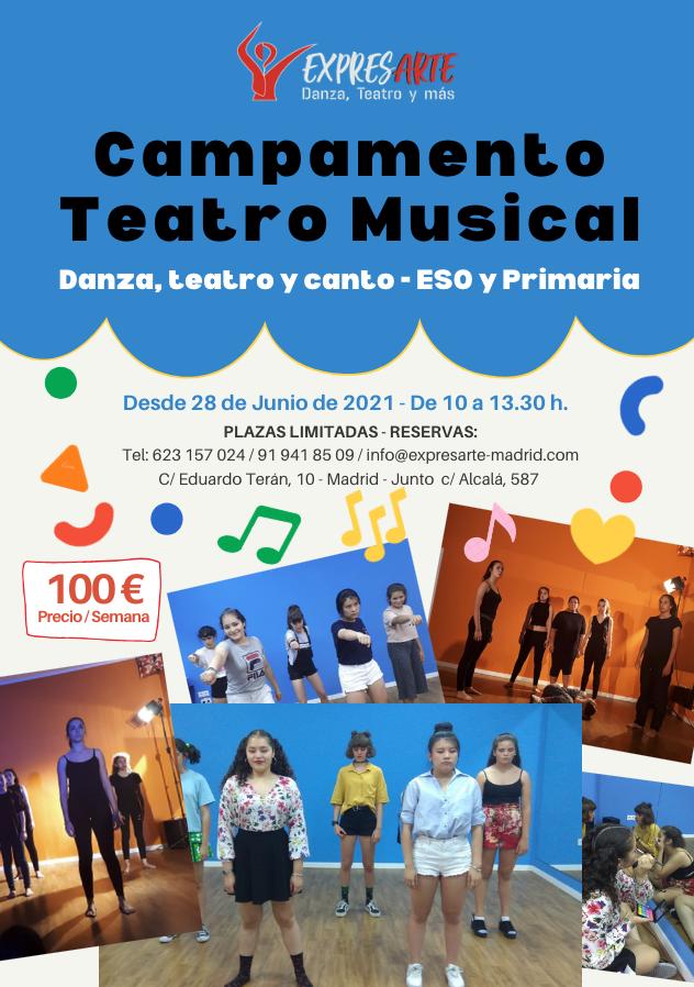 campamento teatro musical